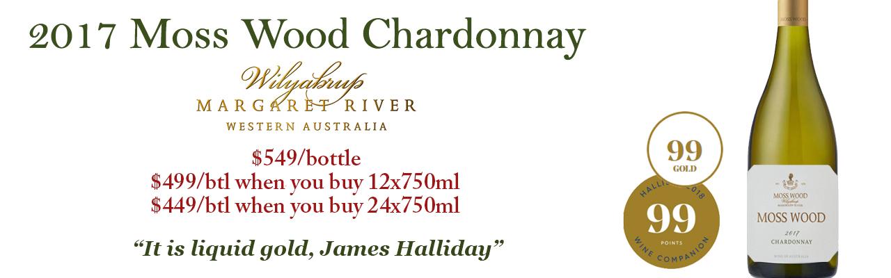 2017 Moss Wood Wilyabrup Chardonnay