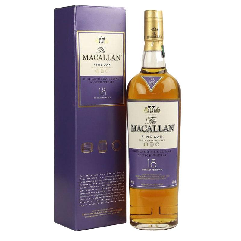 The Macallan Fine Oak 18yrs