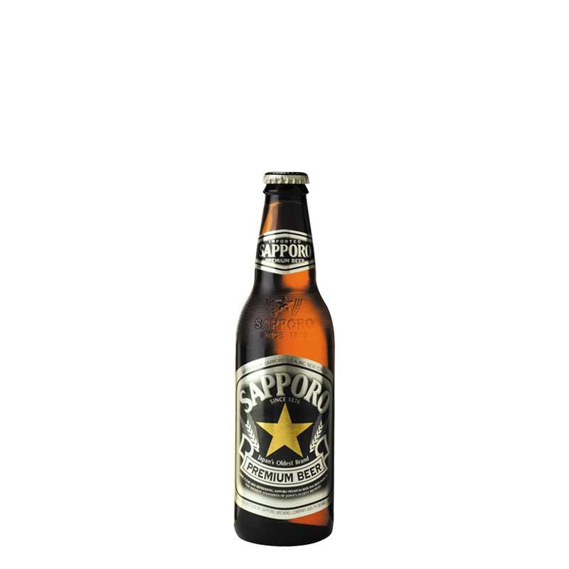 Sapporo Premium Beer          (24 X 330 ml)