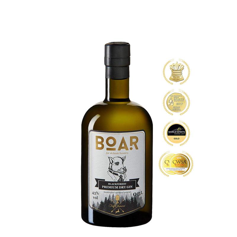 BOAR Blackforest Premium Dry Gin 500 ml