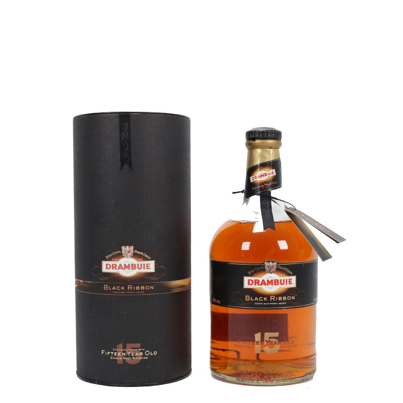 Drambuie Black Ribbon 15 yrs old Single Malt Scotch Whisky