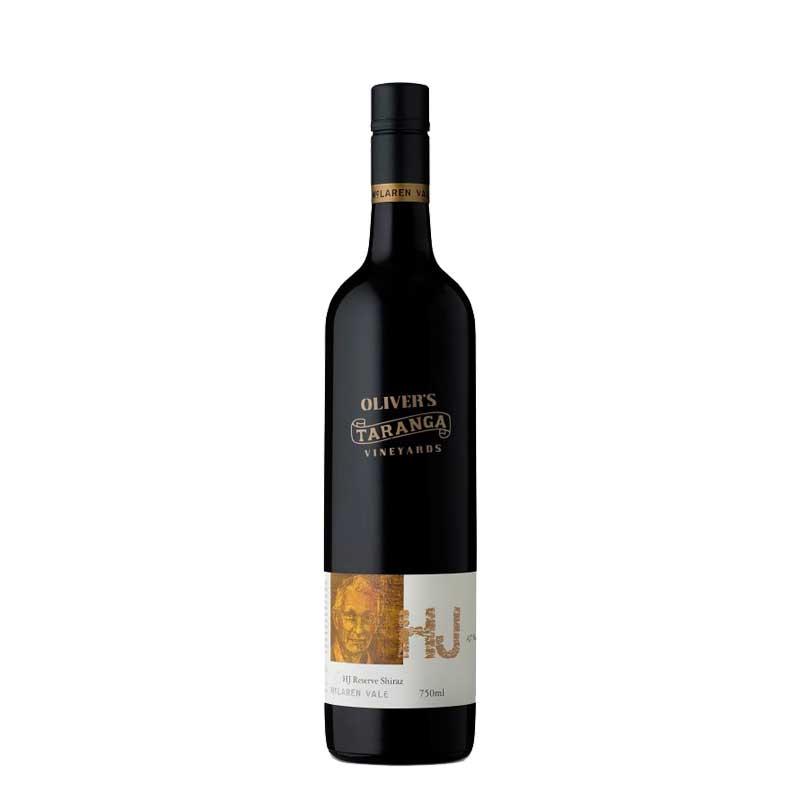 Olivers Taranga Vineyards HJ Reserve Shiraz (12 x 750ml)