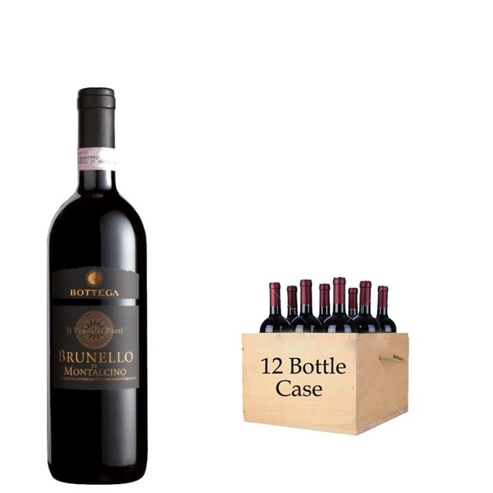 Bottega 'Il Vino dei Poeti' Brunello di Montalcino DOCG (12x750ml)