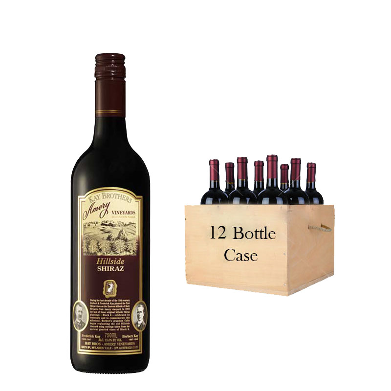 Kay Brothers Hillside Shiraz (12x750ml)
